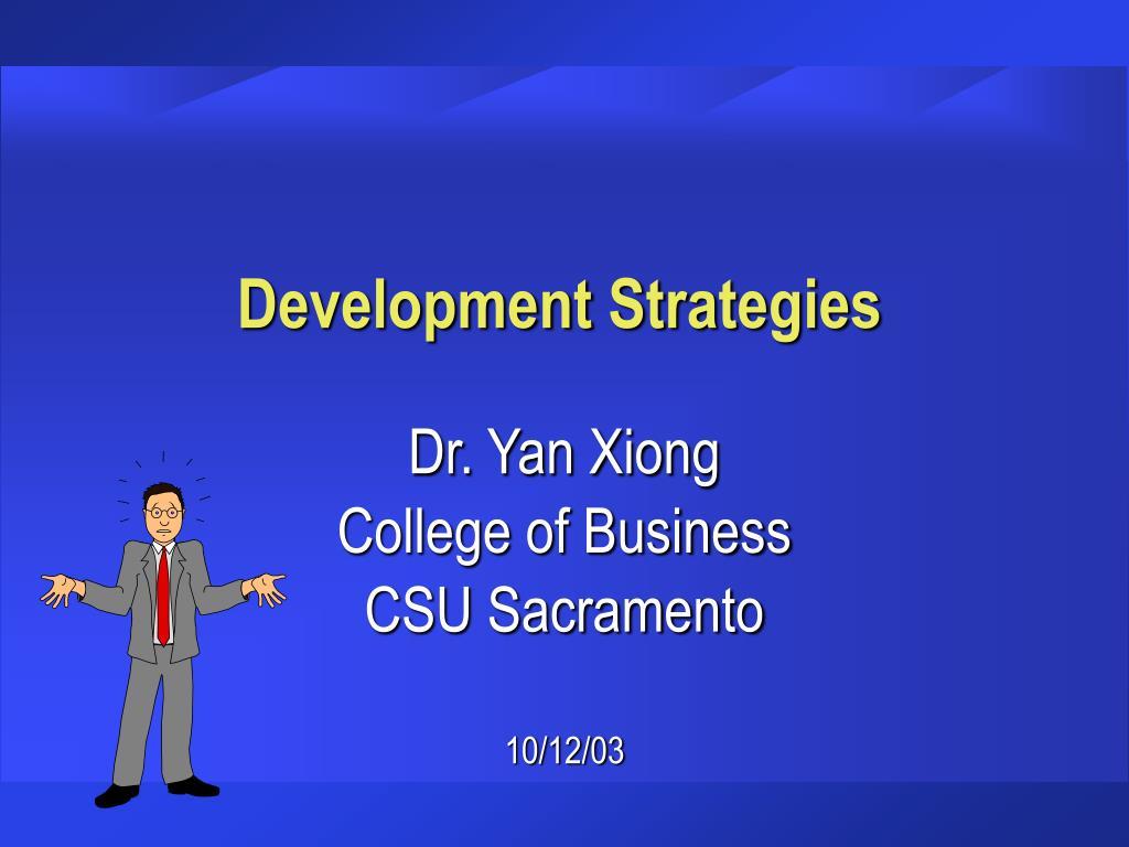 development strategies l.