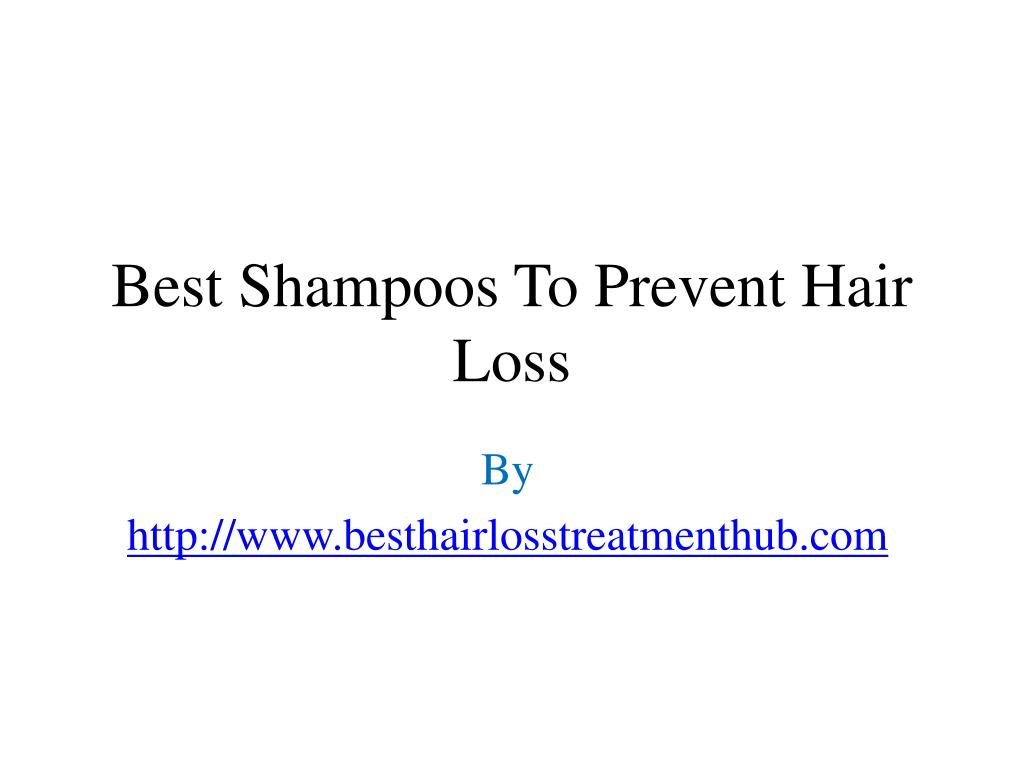 best shampoos to prevent hair loss l.