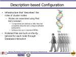 description based configuration20