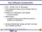 key software components