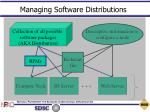 managing software distributions