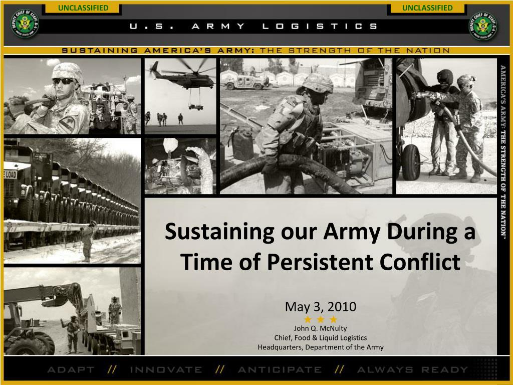 sustaining our army during a time of persistent conflict l.