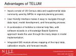 advantages of telum