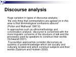 discourse analysis28