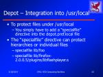 depot integration into usr local20