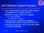sup software update program5