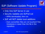 sup software update program8