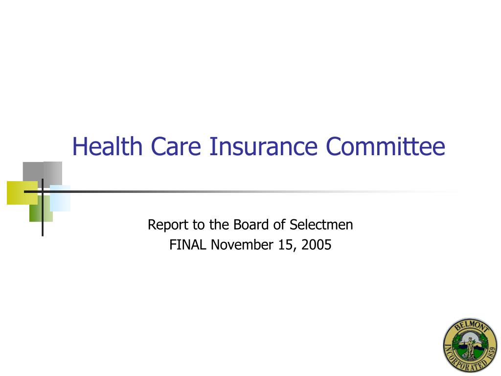health care insurance committee l.