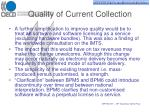 quality of current collection7