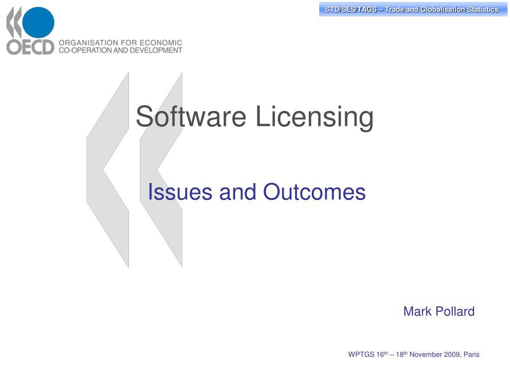 software licensing l.