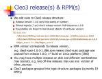 cleo3 release s rpm s