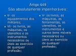 artigo 649 s o absolutamente impenhor veis16