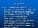 artigo 659