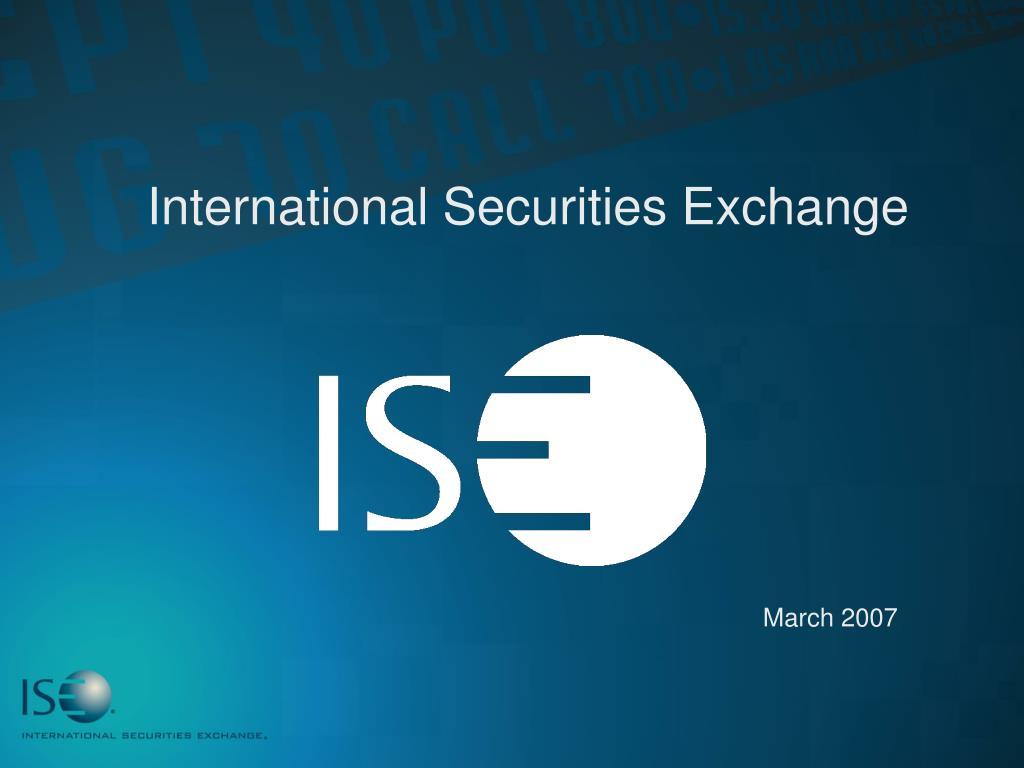 international securities exchange l.