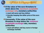 fixed exchange rates32