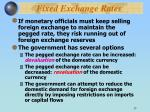 fixed exchange rates33