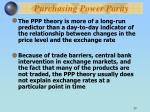purchasing power parity29
