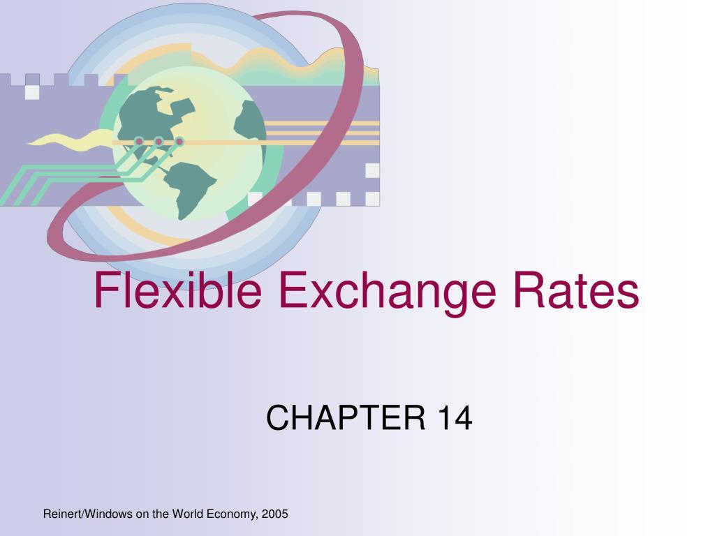 flexible exchange rates l.