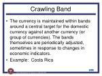 crawling band