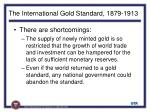 the international gold standard 1879 1913