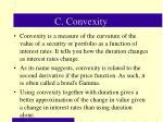 c convexity