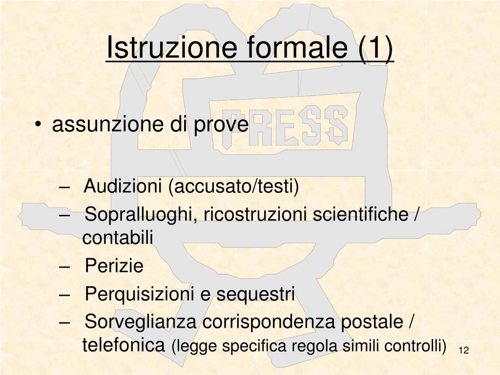 Istruzione formale (1)
