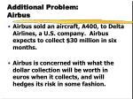 additional problem airbus