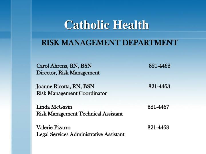 Catholic Health