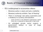 roots of financial dollarization5