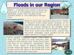 floods in our region