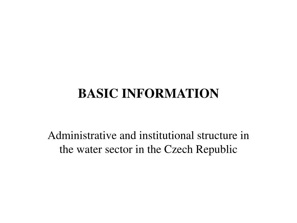 basic information l.