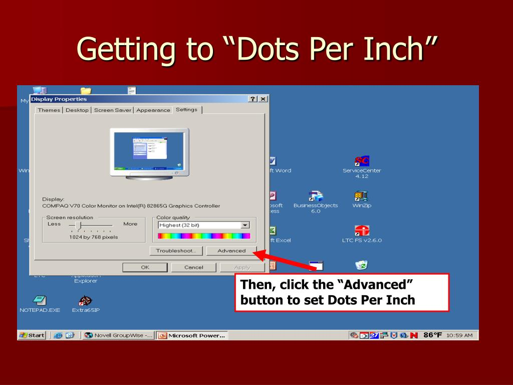 "Getting to ""Dots Per Inch"""