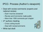 ipcc process author s viewpoint16