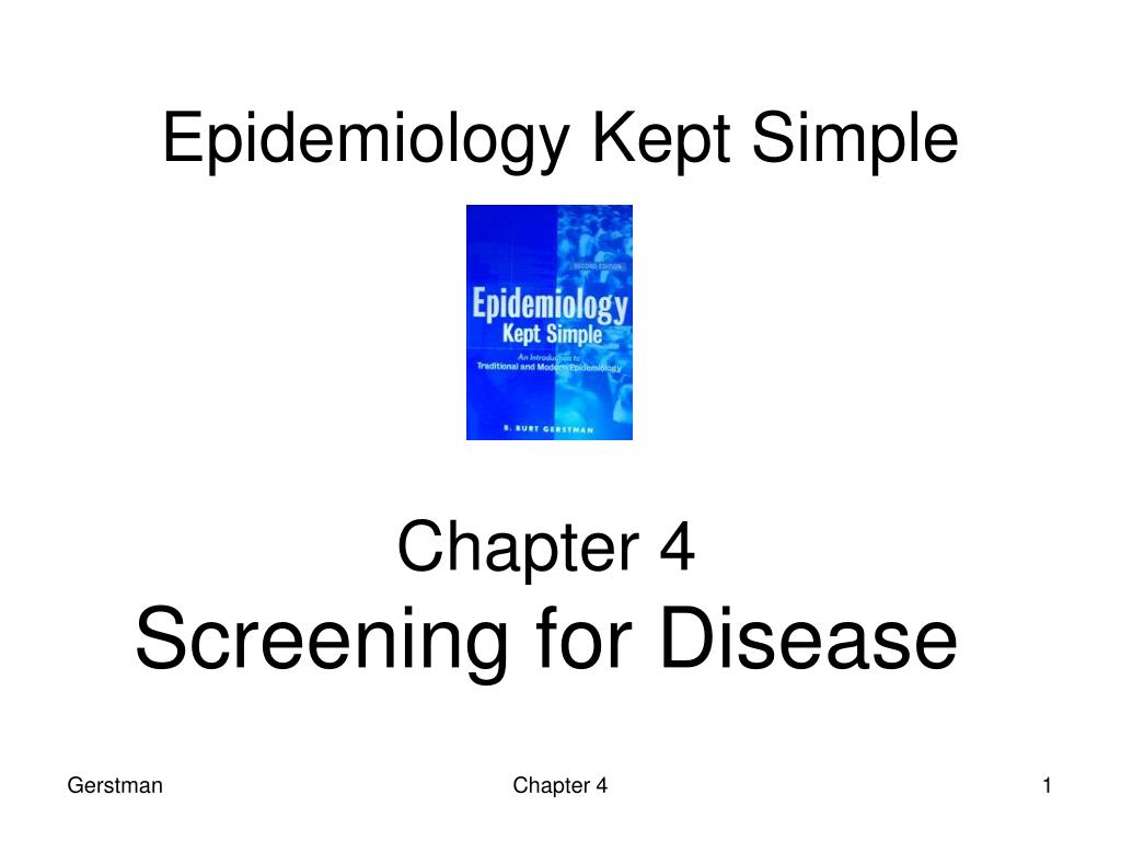 epidemiology kept simple l.