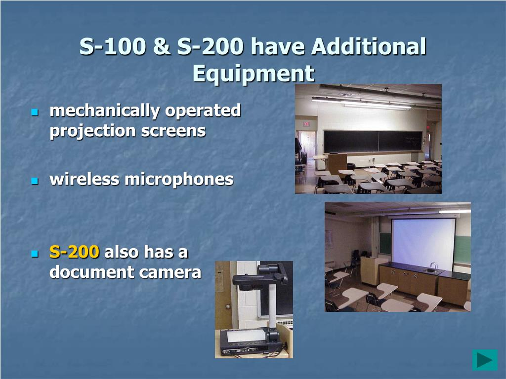 S-100 & S-200 have Additional Equipment