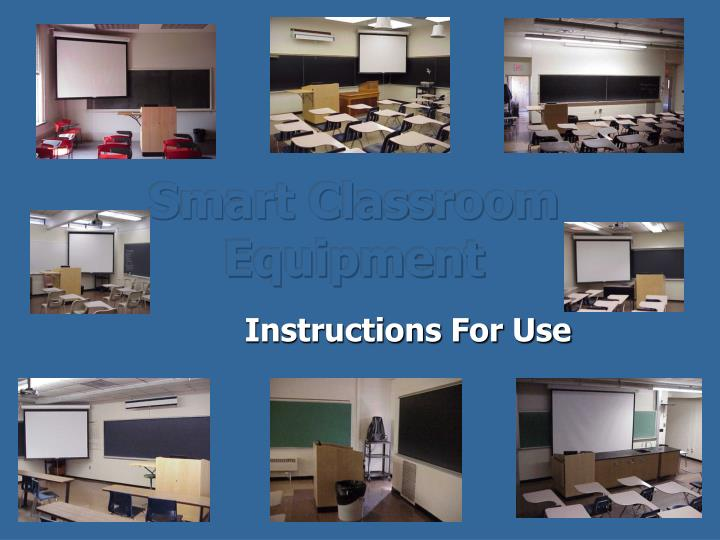 smart classroom equipment n.