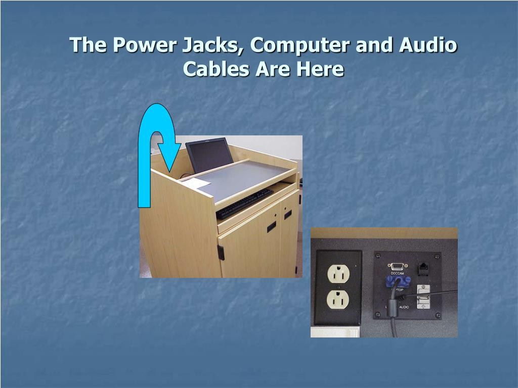 The Power Jacks, Computer and Audio Cables Are Here