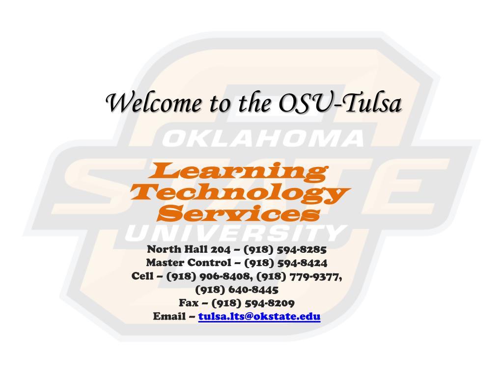 welcome to the osu tulsa l.