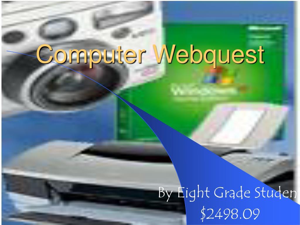 computer webquest l.