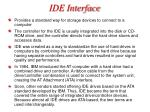 ide interface