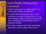 digital rights management conclusion