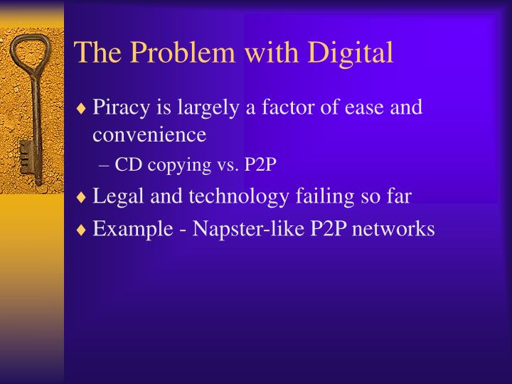 The Problem with Digital