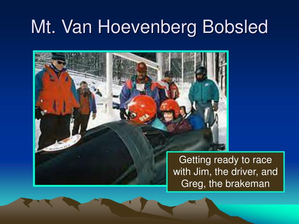 Mt. Van Hoevenberg Bobsled