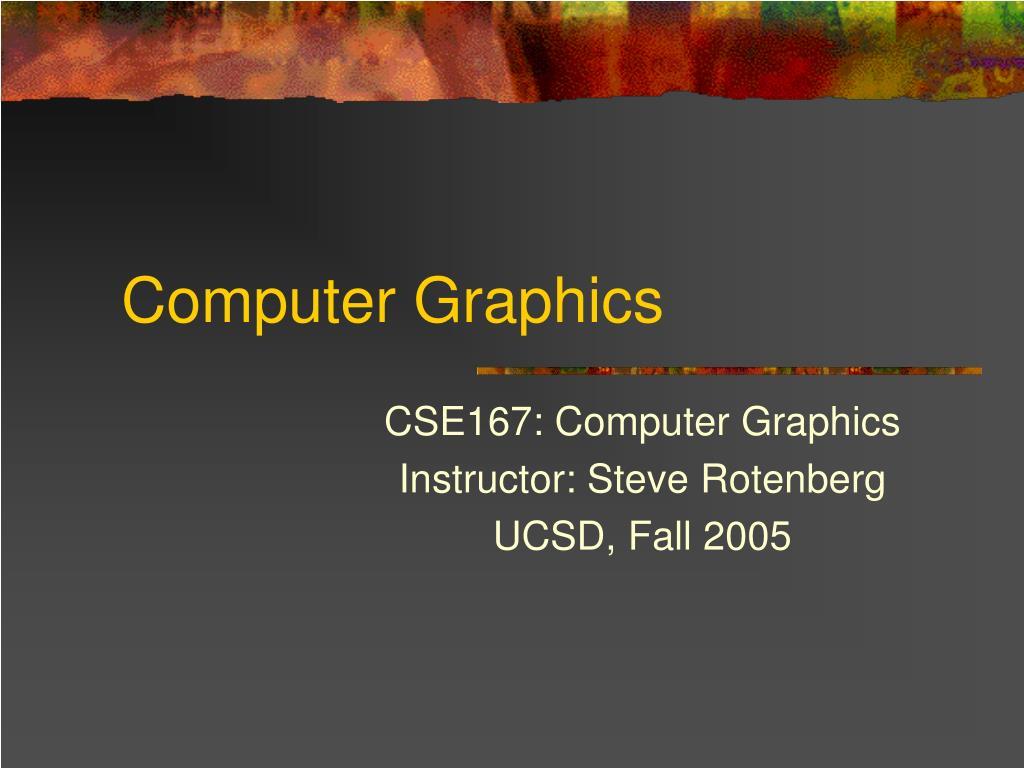 computer graphics l.
