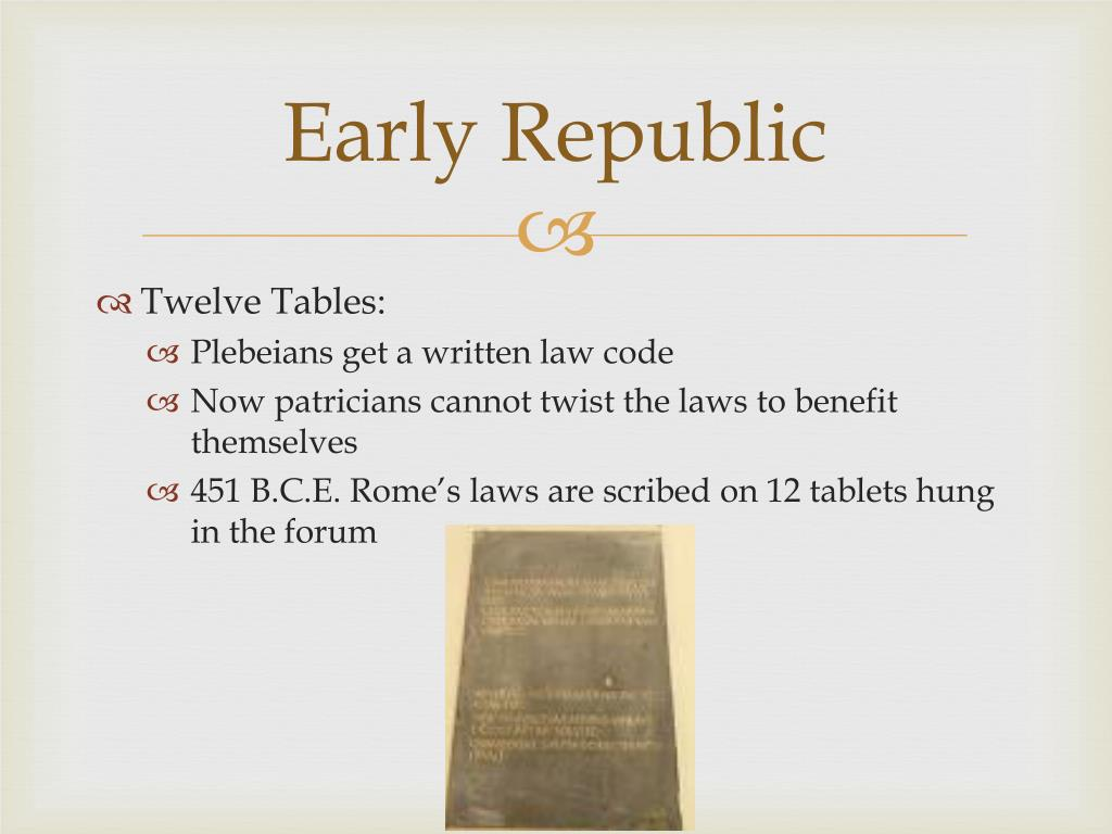 Early Republic