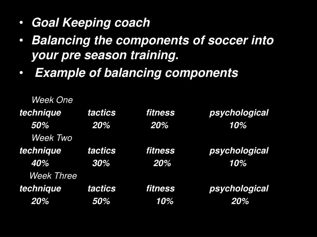 Goal Keeping coach