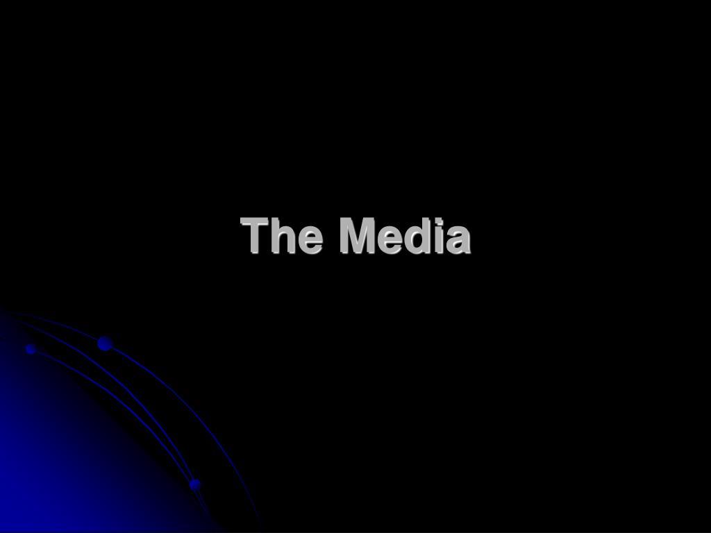 the media l.