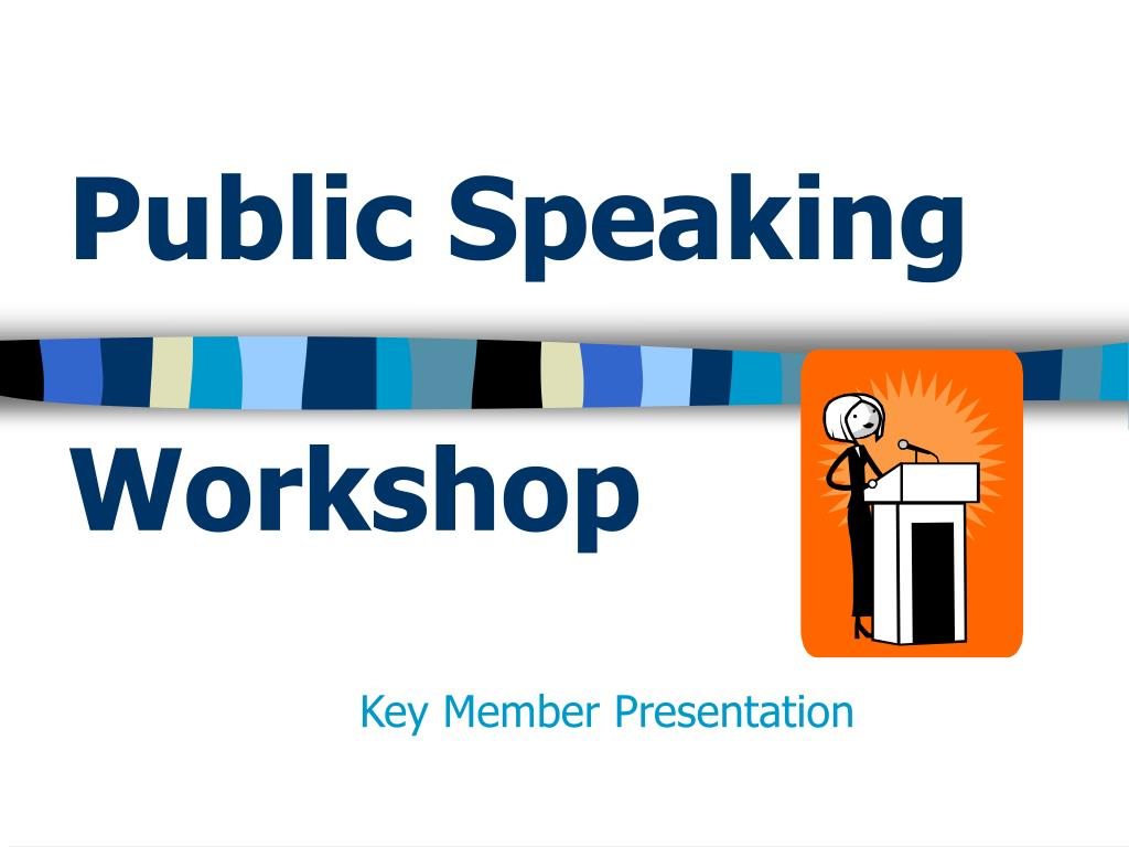 public speaking workshop l.