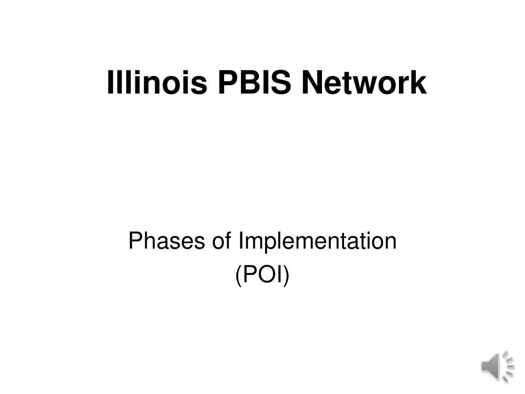 illinois pbis network l.