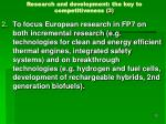 research and development the key to competitiveness 3